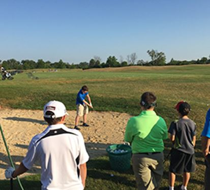 Group golf class